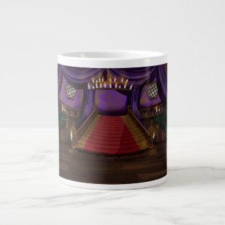 Creepy Mansion Stairway Large Coffee Mug