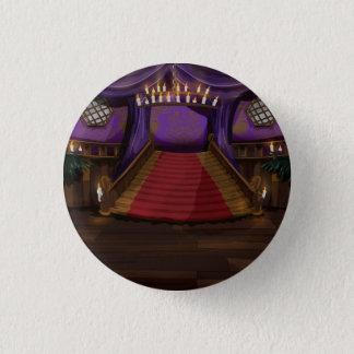 Creepy Mansion Stairway Pinback Button
