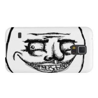 Creepy Me Gusta Face Case For Galaxy S5