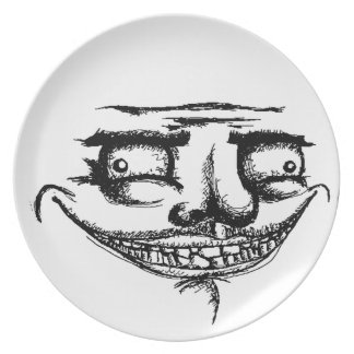 Creepy Me Gusta - Plate