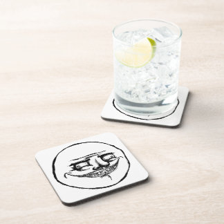 Creepy Me Gusta - set of 6 Cork Coasters