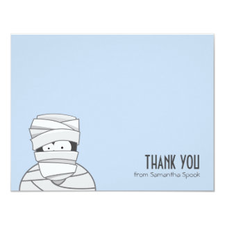 Creepy Mummy | Flat Thank You Note Cards