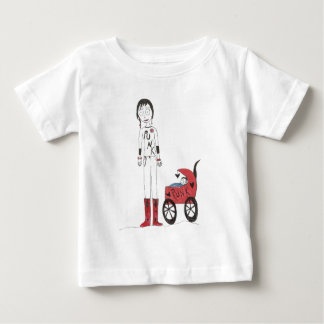 Creepy New Mom Baby T-Shirt