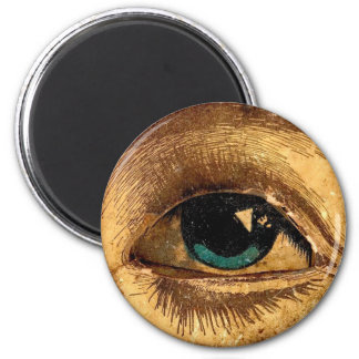 Creepy Odd Eye Ball Looking At You Magnet