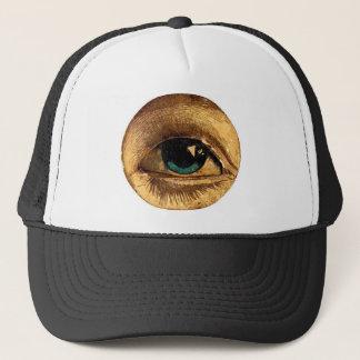 Creepy Odd Eye Ball Looking At You Trucker Hat