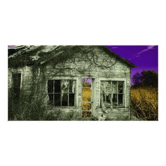 Creepy Old House Card