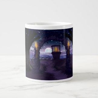 Creepy old Lighthouse Large Coffee Mug