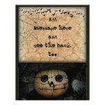 Creepy Orange Pumpkin Jack-o-Lantern Flyer
