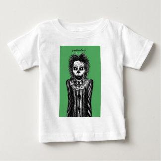 Creepy Peek-a-boo clown Baby T-Shirt