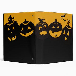creepy pumpkins binder