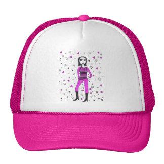 Creepy Punk Trucker Hat