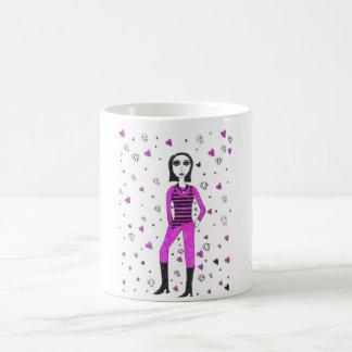 Creepy punk mugs