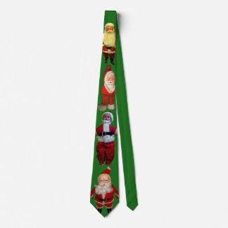 Creepy Santa Christmas Tie