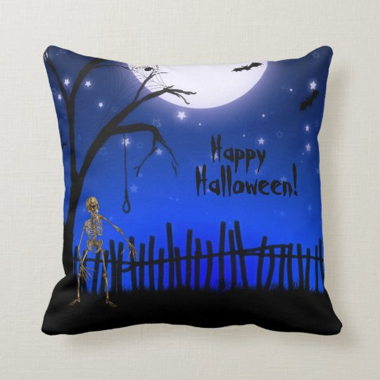 Creepy & Scary Halloween Decorative Throw Pillow