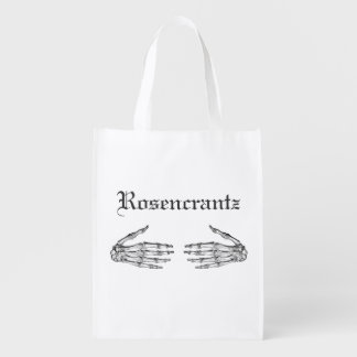 Creepy Skeleton Hands - Personalize It Reusable Grocery Bag