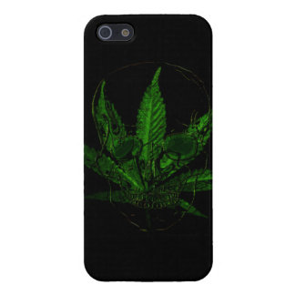 Creepy Skull and Pot Plant Cover For iPhone SE/5/5s