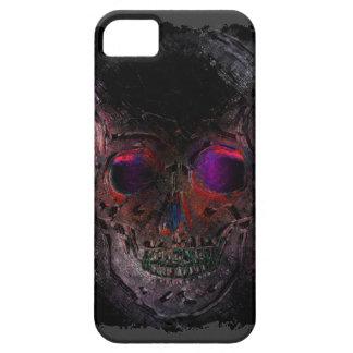 Creepy Skull, Grunge, Goth, Halloween iPhone SE/5/5s Case