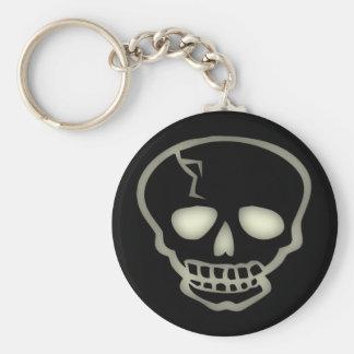 Creepy Skull Keychain