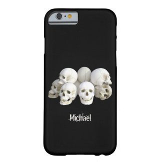 Creepy skulls pile barely there iPhone 6 case