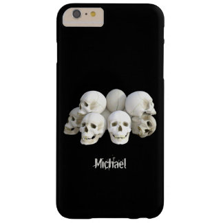 Creepy skulls pile barely there iPhone 6 plus case