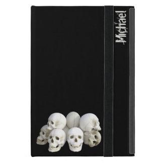 Creepy skulls pile covers for iPad mini