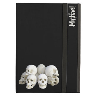 Creepy skulls pile iPad air cases