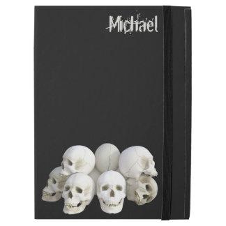Creepy skulls pile iPad pro case