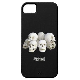 Creepy skulls pile iPhone SE/5/5s case