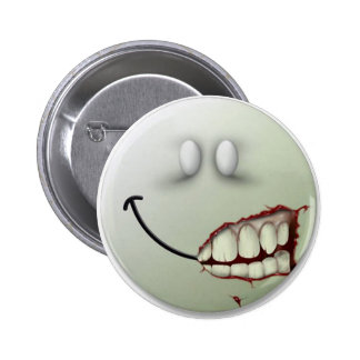 Creepy Smile Pinback Buttons