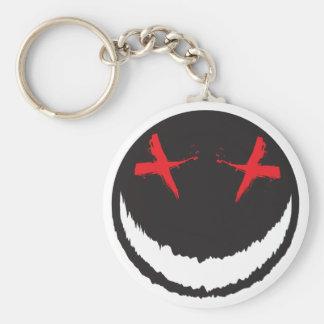 Creepy Smiley Keychain