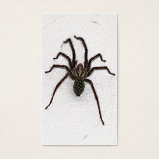 Creepy Spider Business Card