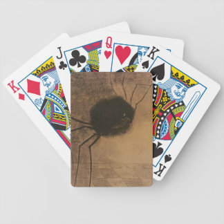 Creepy Spider Halloween Party Poker Playing Cards