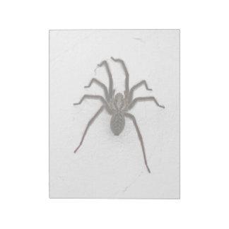 Creepy Spider Memo Notepads