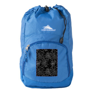 Creepy Spider Webs Backpack