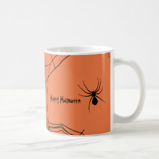 Creepy Spiderweb Coffee Mug