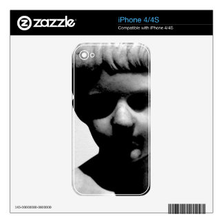 Creepy Statue / Sculpture of Young Boy iPhone 4S Skin