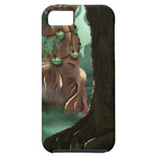 Creepy Swamp Thing Tree House iPhone 5 Case