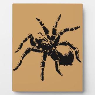 Creepy Tarantula Design Plaque