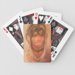 Creepy the Clown Bicycle Playing Cards