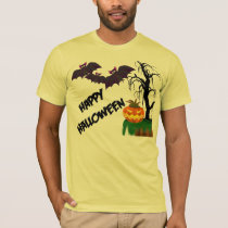 Creepy Tree and Jack-o-lantern Halloween Shirt