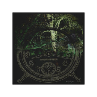 Creepy Trees Time Canvas Print