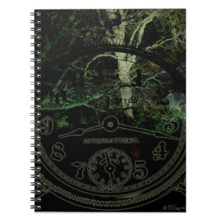 Creepy Trees Time Notebook