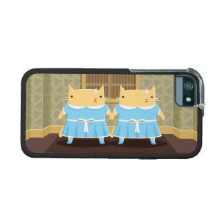 Creepy Twin Kitties iPhone 5/5S Cover