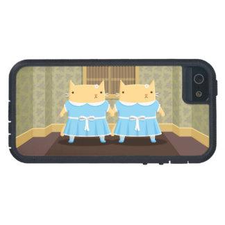 Creepy Twin Kitties iPhone SE/5/5s Case