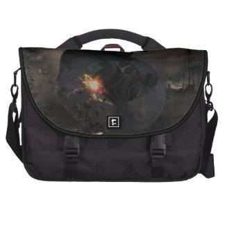 Creepy UFO Crash Laptop Computer Bag