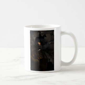 Creepy UFO Crash Mug