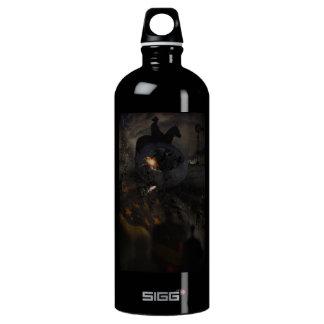 Creepy UFO Crash Water Bottle