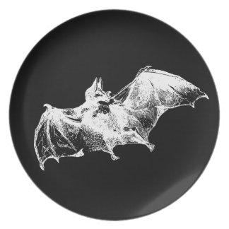 Creepy Vampire Bat Party Plates