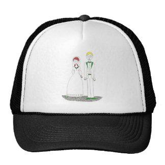 Creepy Wedding Irish Trucker Hat