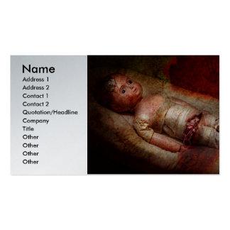 Creepy - Weird - No one ever suspected Business Cards